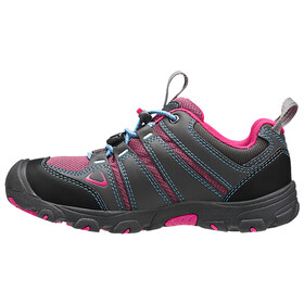 Keen Oakridge Low WP Shoes Children grey/pink